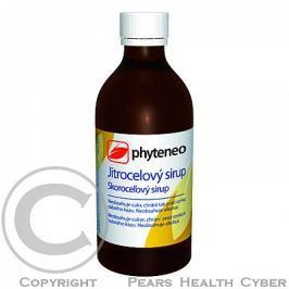 Phyteneo Jitrocelový sirup bez cukru 250 ml