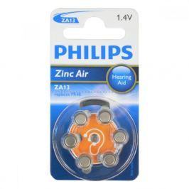 PHILIPS Baterie do naslouchadel 6ks ZA13B6A