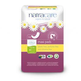 NATRACARE Menstruační vložky Maxi REGULAR bez křidélek 14 ks Menstruační vložky