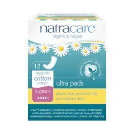 NATRACARE Menstruační vložky Ultra SUPER PLUS bez křidélek 12 ks