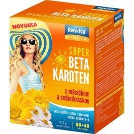 REVITAL Super Beta-karoten s měsíčkem a sedmikráskou 80+40 tablet
