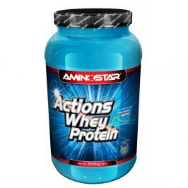Whey Protein ACTIONS(R) 65, Jahoda, 2000 g