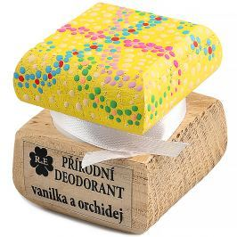 RAE Přírodní krémový deodorant vanilka orchidej barevná krabička 15 ml