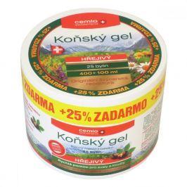 Cemio Koňský gel hřejivý 400 + 100 ml ZDARMA