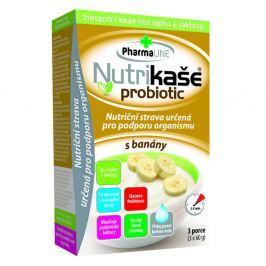 PHARMALINE Nutrikaše probiotic S banány 3x60 g