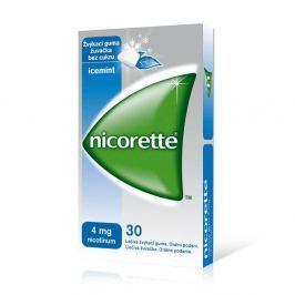 NICORETTE ICEMINT GUM 30X4 MG Žvýkačky