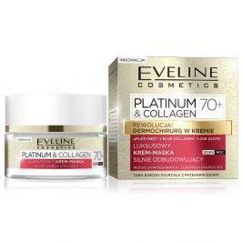 EVELINE COSMETICS Platinum&Collagen day&night face cream 70+ 50 ml