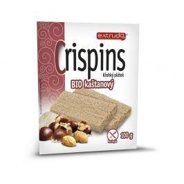 EXTRUDO Cereální křehký chléb Crispins BIO kaštanový bez lepku 2x50 g