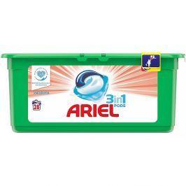 ARIEL Sensitive kapsle na praní prádla 3v1 šetrné 28 praní