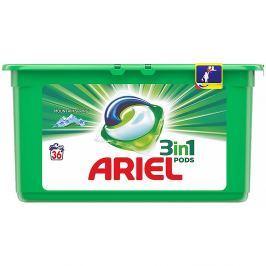 ARIEL Mountain Spring kapsle na praní prádla 3v1 36 praní