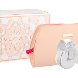 BVLGARI Omnia Crystalline Toaletní voda 65 ml + Tělové mléko 75 ml + mýdlo 75 g + kosmetická taška