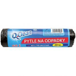Q-CLEAN Pytle do odpadků 60l 60 x 70 cm 20 ks