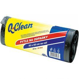 Q-CLEAN Pytle do odpadků 30 l 50 x 60 cm 20 ks