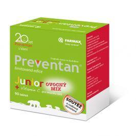PREVENTAN Junior ovocný mix 90 tablet limitovaná edice