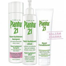 PLANTUR 21 Set šampon 250ML a tonikum 200ML + balzám 150ML ZDARMA