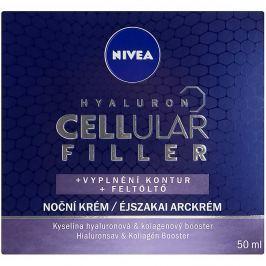 NIVEA Hyaluron Cellular Filler vyplňující noční krém 50 ml