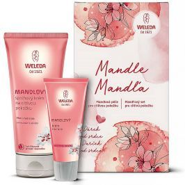 WELEDA Mandlová péče pro citlivou pokožku sprchový krém 200 ml a krém na ruce 50 ml