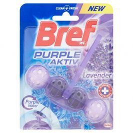 BREF Purple Aktiv Lavender tuhý WC blok 50 g