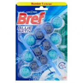 BREF Blue Aktiv Eucalyptus tuhý WC blok 3x50 g