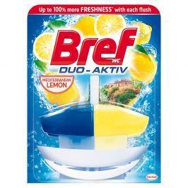 BREF Duo-Aktiv Mediterranean Lemon tekutý WC blok náhradní náplň 50 ml