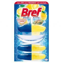 BREF Duo-Aktiv Mediterranean Lemon tekutý WC blok 3x50 ml