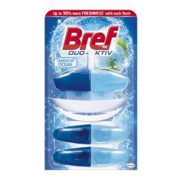 BREF Duo-Aktiv Caribbean Ocean tekutý WC blok 3x50 ml