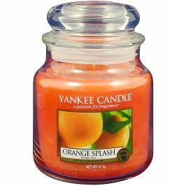 YANKEE CANDLE Orange Splash Classic střední 411 g