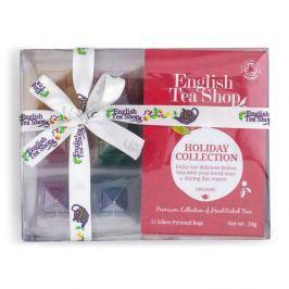 ENGLISH TEA SHOP Kolekce červené ozdoby BIO 24g