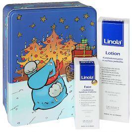 LINOLA vánoční balení (Lotion + Gesicht) Kosmetické sady