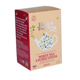 ENGLISH TEA SHOP bílý čaj s lychee a kakaem 20 sáčků