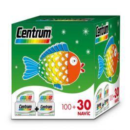 CENTRUM AZ s multi-efektem vánoční 100 + 30 tablet Vitamíny a minerály