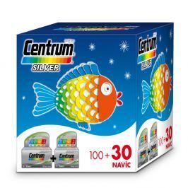 Centrum Silver s multi-efektem tbl.100 30 Vánoční Vitamíny a minerály
