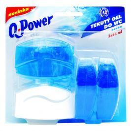 Q power tekutý závěs 3x55ml ocean Dezinfekční prostředky na WC