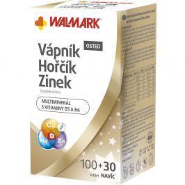 WALMARK Vápník Hořčík Zinek OSTEO 100+30 tablet Promo 2018 Přípravky s multivitamíny