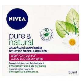 NIVEA Pure&Nat. denní krém 50ml S/C