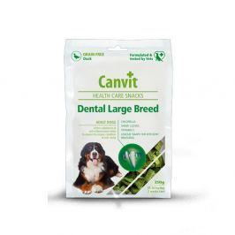 Canvit Snacks Dental Large Breed Duck 250 g Pamlsky pro psy a kočky