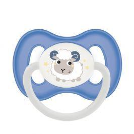 CANPOL BABIES Dudlík kaučukový třešinka BUNNY&COMPANY 0-6m modrý Dudlíky pro děti 0 - 6 měsíců