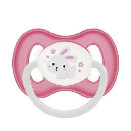 CANPOL BABIES Dudlík kaučukový třešinka BUNNY&COMPANY 0-6m růžový