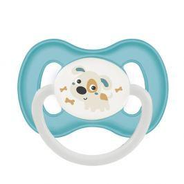 CANPOL BABIES Dudlík kaučukový třešinka BUNNY&COMPANY 0-6m tyrkysový Dudlíky pro děti 0 - 6 měsíců