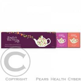 ENGLISH TEA SHOP Vánoční Fialová kolekce 60 sáčků Čajové sady