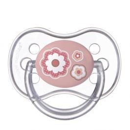 CANPOL BABIES Dudlík silikonový symetrický NEWBORN BABY 18+m růžový