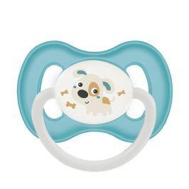 CANPOL BABIES Dudlík silikonový symetrický BUNNY&COMPANY 18+m tyrkysový Dudlíky pro děti 18 - 36 měsíců