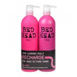 TIGI Bed Head Recharge High Octane Shampoo 1500 ml Recharge Shampoo 750 ml + 750 ml Kosmetické sady