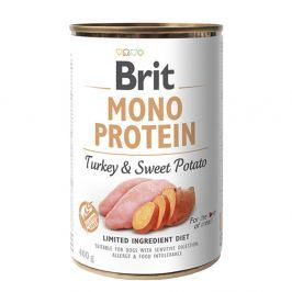 Brit MONO PROTEIN Turkey & Sweet Potato konzerva pro psy 400 g Konzervy