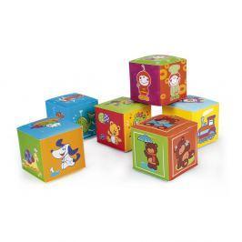 CANPOL BABIES Měkké kostky 6 ks Interaktivní hračky
