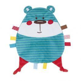 CANPOL BABIES Plyšový mazlíček FOREST FRIENDS modrý medvěd