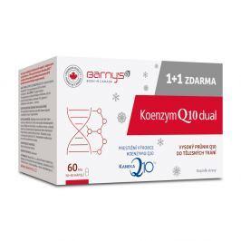 BARNY´S Koenzym Q10 Dual 60mg 30+30 kapslí ZDARMA Doplňky stravy pro krevní oběh a cévy