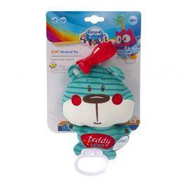 CANPOL BABIES plyšová hračka se zvuky FOREST FRIENDS modrý medvěd Plyšové hračky