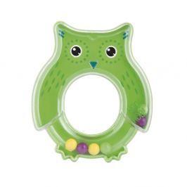 CANPOL BABIES Chrastítko sova zelené