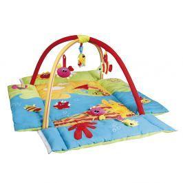 CANPOL BABIES Hrací koberec s hrazdičkou MULTIFUNKČNÍ Colorful ocean